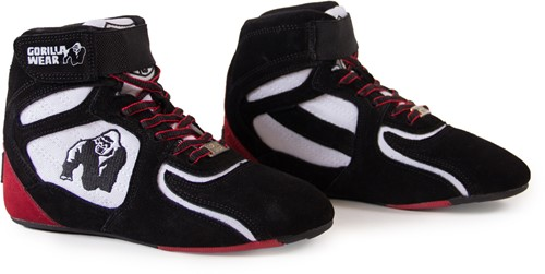 """Chicago High Tops - Black/White/Red Limited"""""""" """"""""-3"""