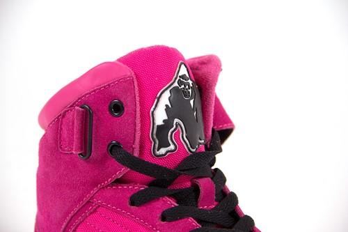 Gorilla Wear High tops Pink-3
