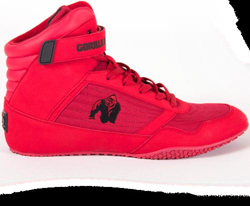 Gorilla Wear High Tops - Red - EU 40