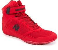 Gorilla Wear High Tops Red-3
