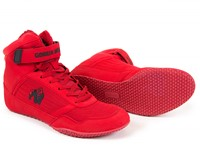 Gorilla Wear High Tops Red-2