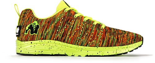 Brooklyn knitted sneakers - Neon mix - EU 38