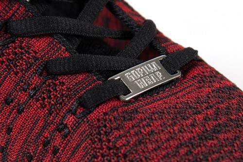 Brooklyn knitted sneakers - Red/Black-3
