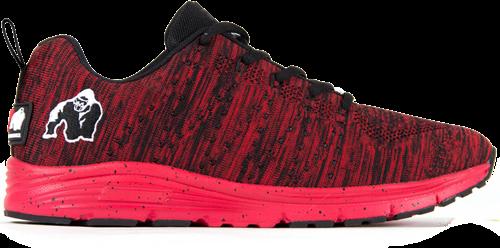 Brooklyn knitted sneakers - Red/Black - US MEN 12 / WOMEN 14 / EU 46