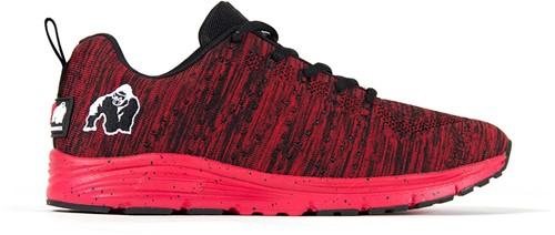 Brooklyn knitted sneakers - Red/Black - US MEN 4 / WOMEN 5,5 / EU 36