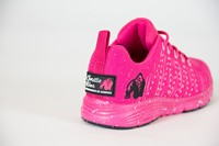 Brooklyn Knitted Sneakers - Pink/White-3