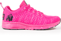 Brooklyn Knitted Sneakers - Pink/White