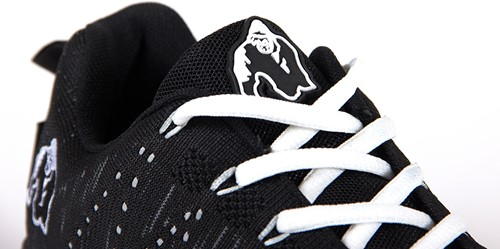 Brooklyn knitted sneakers - Black/White-3