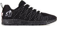 Brooklyn knitted sneakers - Black/White