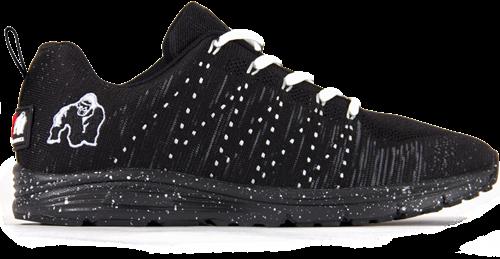 Brooklyn knitted sneakers - Black/White - US MEN 8 / WOMEN 9,5 / EU 41