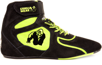"""Chicago High Tops - Black/ Neon Lime Limited"""""""""""""""""""