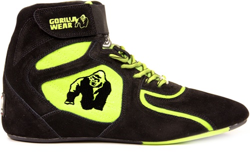 Chicago High Tops - Black/ Neon Lime Limited""""""""