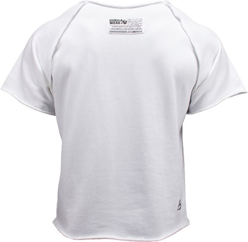 Classic Workout Top White-2