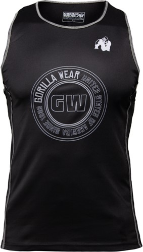 Kenwood Tank Top - Black/Silver