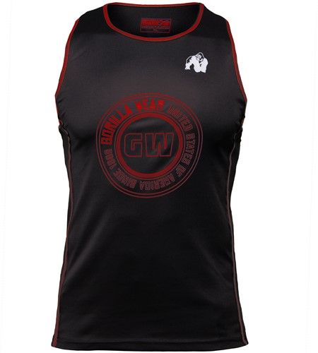 Kenwood Tank Top - Black/Red