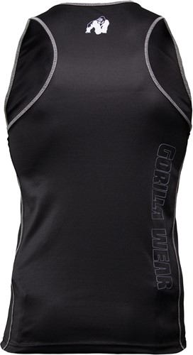 Kenwood Tank Top - Black/Silver-2