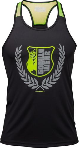 Lexington Tank Top - Black/Neon Lime