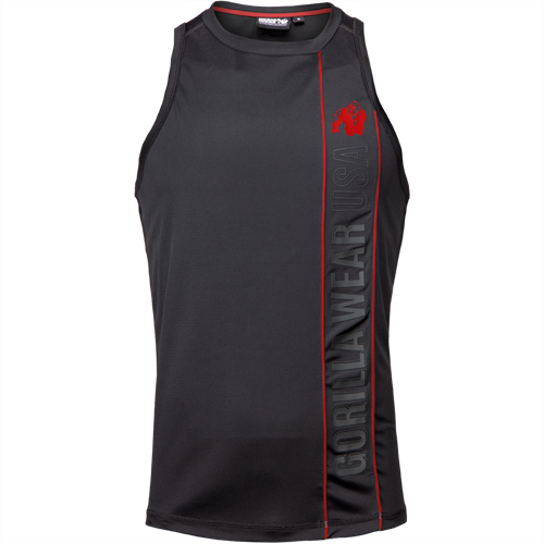 Branson Tank Top - Black/Red