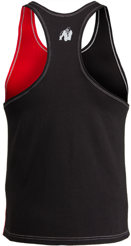 Sterling Stringer Tank Top - Black/Red-2