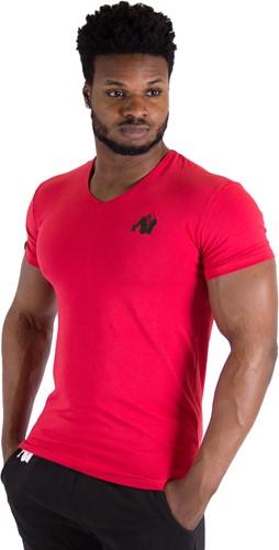 Essential V-Neck T-Shirt - Red