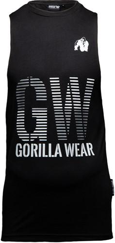 Dakota Sleeveless T-Shirt - Black