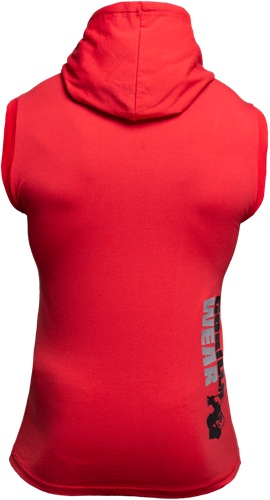 Melbourne S/L Hooded T-shirt - Red-2