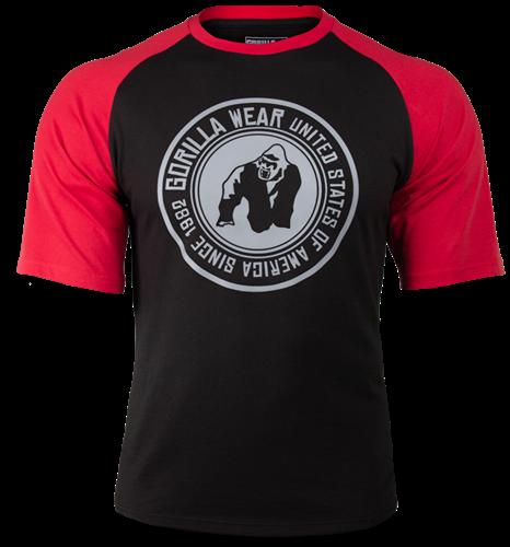 Texas T-shirt - Black/Red
