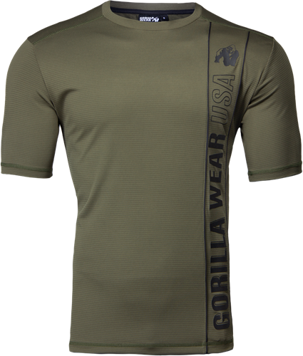 Branson T-shirt - Army Green/Black