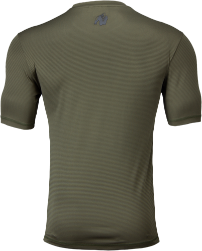 Branson T-shirt - Army Green/Black-2
