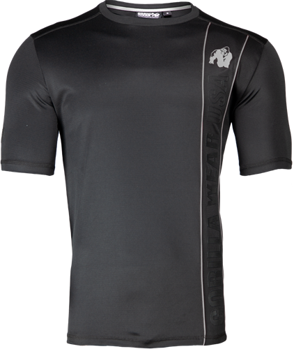 Branson T-shirt - Black/Gray - 2XL