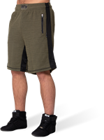 Augustine Old School Shorts - Army Green-3