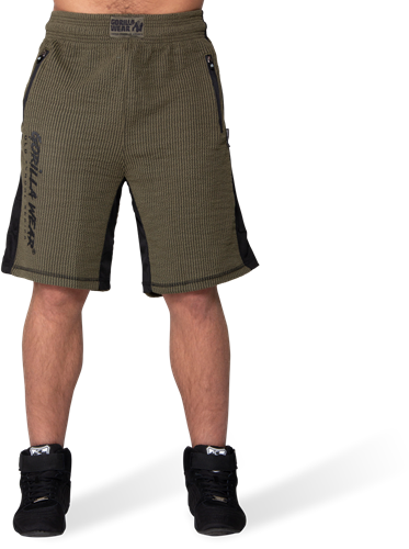 Augustine Old School Shorts - Army Green