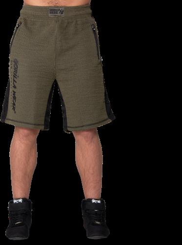 Augustine Old School Shorts - Army Green