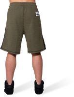 Augustine Old School Shorts - Army Green-2