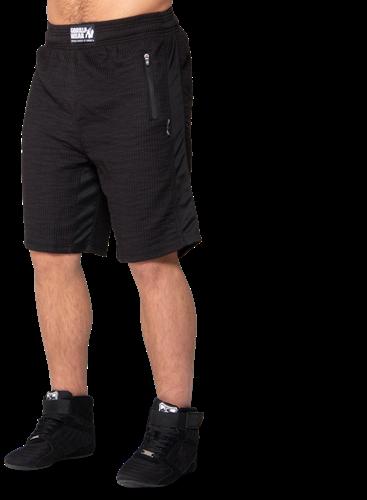 Augustine Old School Shorts - Black-3