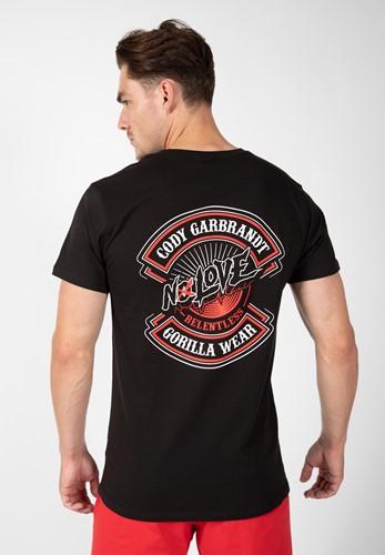 Cody T-shirt - Black - S
