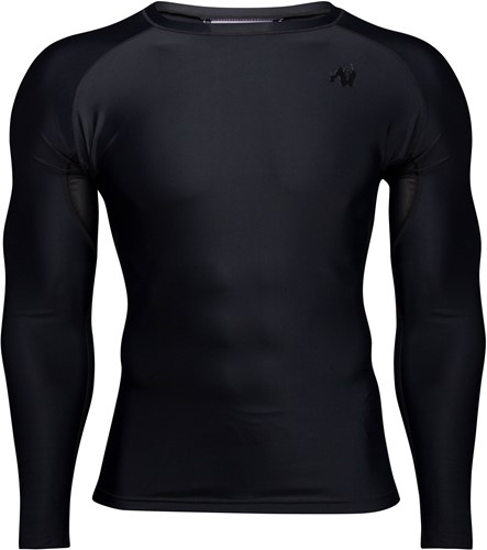 Hayden Compression Long Sleeve - Black/Black