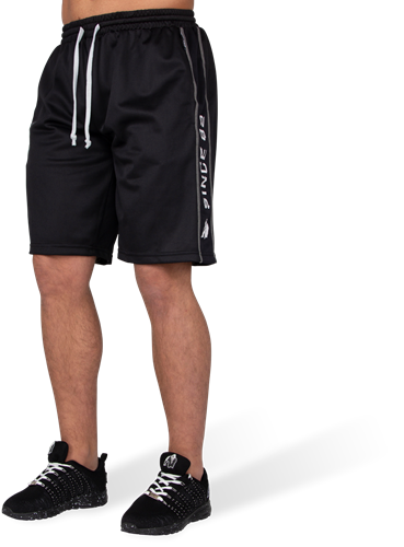 Functional Mesh Shorts Black/White