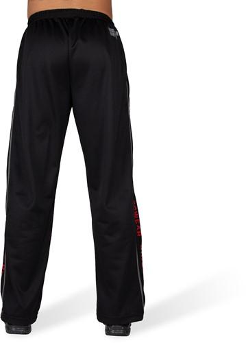 Functional Mesh Pants Black/Red-2