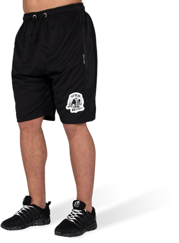 GW Athlete Oversized Shorts Black