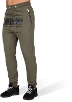 Alabama Drop Crotch Joggers - Army Green