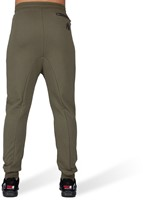 Alabama Drop Crotch Joggers - Army Green-3