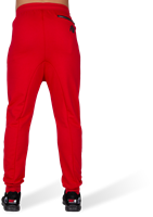 Alabama Drop Crotch Joggers - Red-3