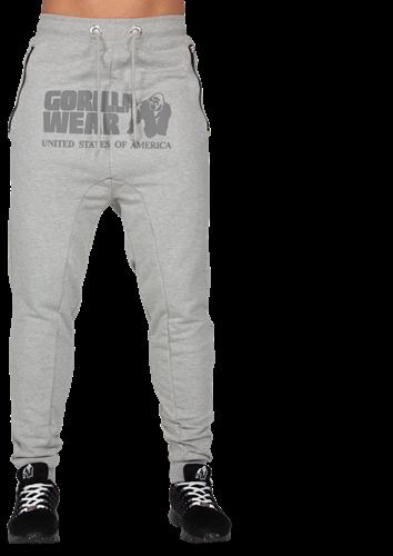 Alabama Drop Crotch Joggers - Gray-2