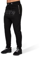Alabama Drop Crotch Joggers - Black