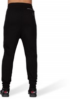 Alabama Drop Crotch Joggers - Black-3