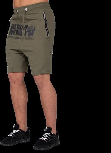 Alabama Drop Crotch Shorts - Army Green - 2XL
