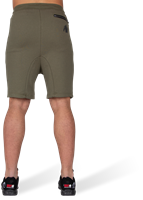 Alabama Drop Crotch Shorts - Army Green-3