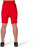 Alabama Drop Crotch Shorts - Red-3