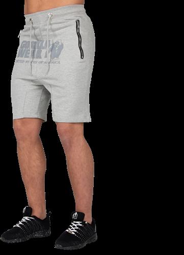 Alabama Drop Crotch Shorts - Gray-4XL